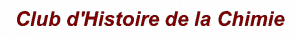 logo club d'histoire de la chimie