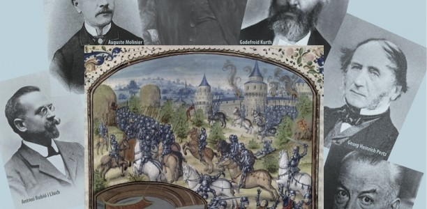8 au 10 novembre 2012 – Colloque international «La naissance de la médiévistique : Les historiens médiévistes et leurs sources en Europe (XIXe – début du XXe siècle)»
