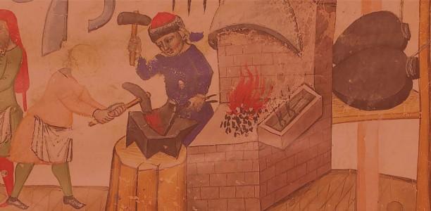 Appel à communication : Colloque international « Hommes et travail du métal dans les villes médiévales : 35 ans après »