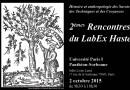 2 octobre – 2es Rencontres du LabEx Hastec
