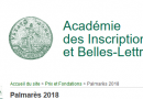 Nicole Bériou élue Membre de l'Institut (Académie des Inscriptions et Belles-Lettres)