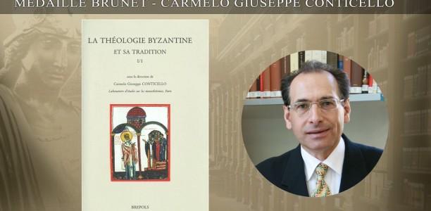 Carmelo Giuseppe Conticello – Médaille Brunet – Académie des Inscriptions et Belles-Lettres – Prix de l'Académie 2017