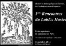 16 octobre – 1res Rencontres du LabEx Hastec