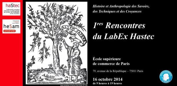 16 octobre – 1res Rencontres du LabEx Hastec